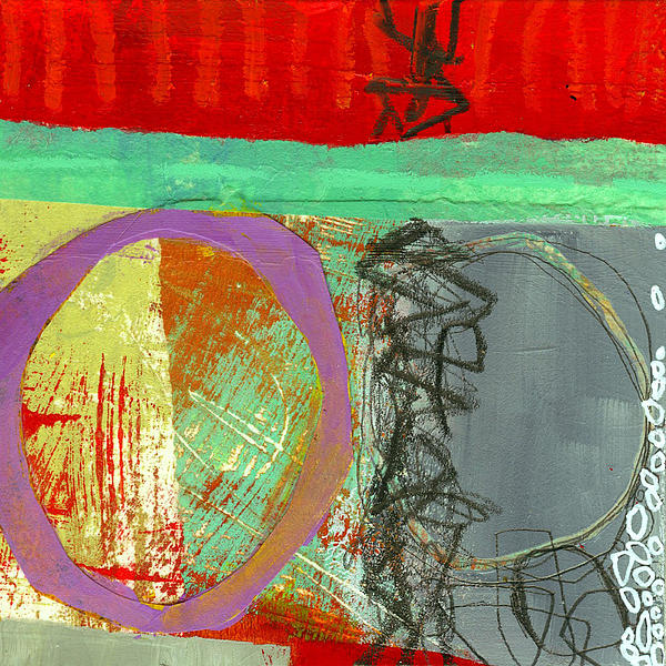 Jane Davies Painting - Crossroads 32 by Jane Davies