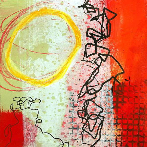 Jane Davies Painting - Crossroads 33 by Jane Davies