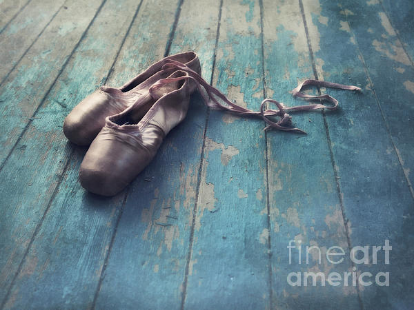 Pointe Shoe Photograph - Danced by Priska Wettstein