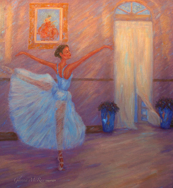 Dancer Painting - Dancing To The Light by Glenna McRae