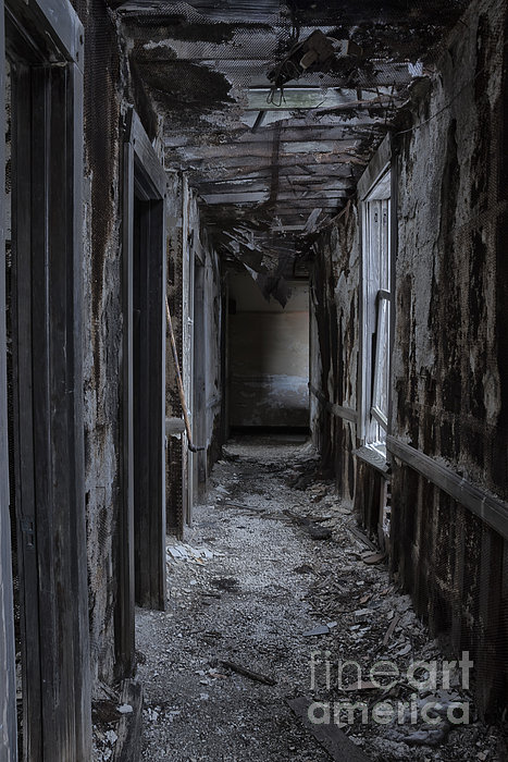 Hall Photograph - Dark Halls by Margie Hurwich