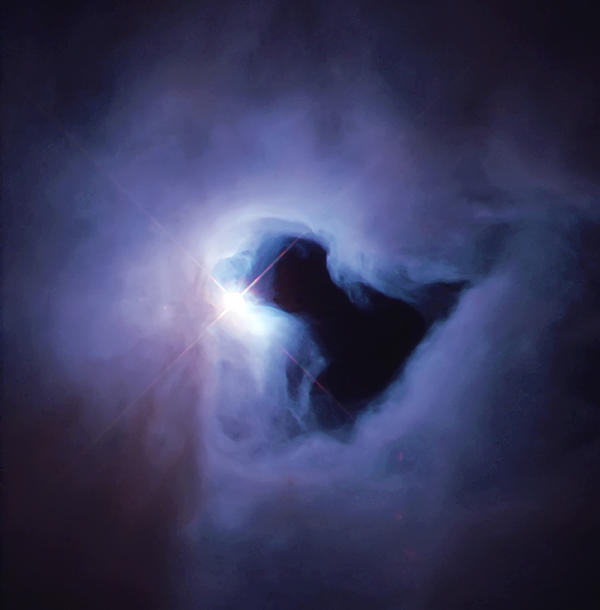 Nebula Photograph - Dark Nebula Cloud  by Jennifer Rondinelli Reilly - Fine Art Photography