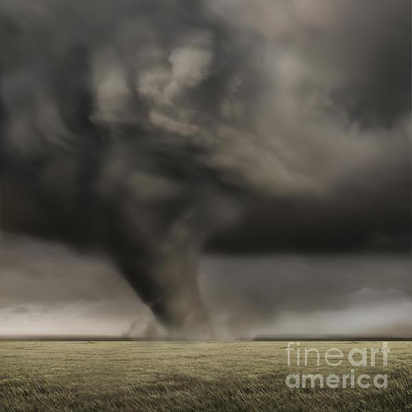 Dark Photograph - Dark Storm by Boon Mee