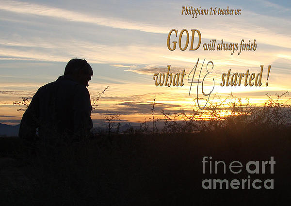 Philippians 1:6 Photograph - Declare Gods Word by Beverly Guilliams