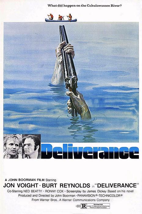 Deliverance Photograph - Deliverance by Movie Poster Prints