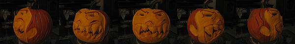 Pumpkin Sculpture - Demented Mister Ullman Pumpkin 3 by Shawn Dall