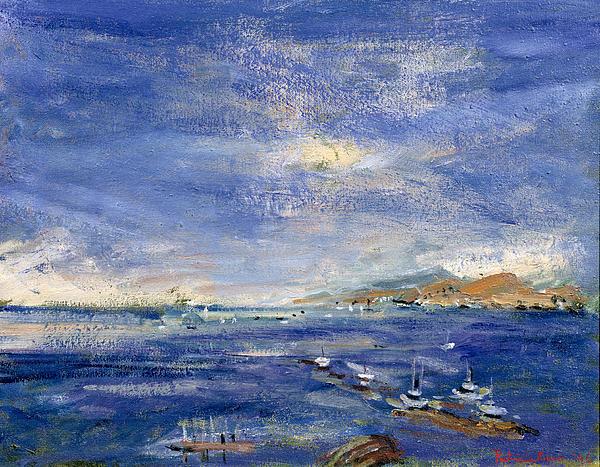 Isle Painting - Desert Hills by Patricia Espir