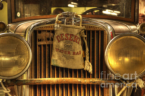 Car Photograph - Desert Rat by Bob Christopher