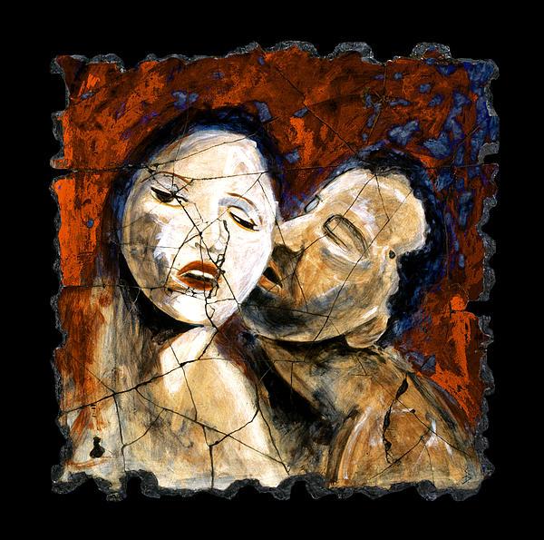 Portrait Painting - Desire by Steve Bogdanoff