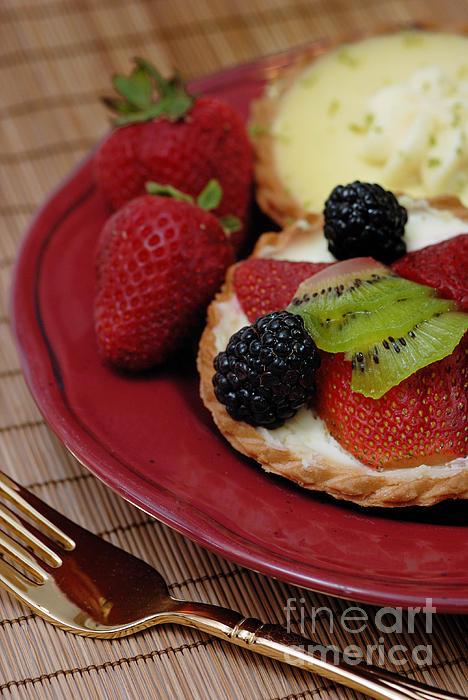 Bakery Photograph - Dessert Tarts by Amy Cicconi