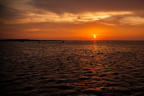 Rusty Photograph - Destin Bay by Paul Bartoszek