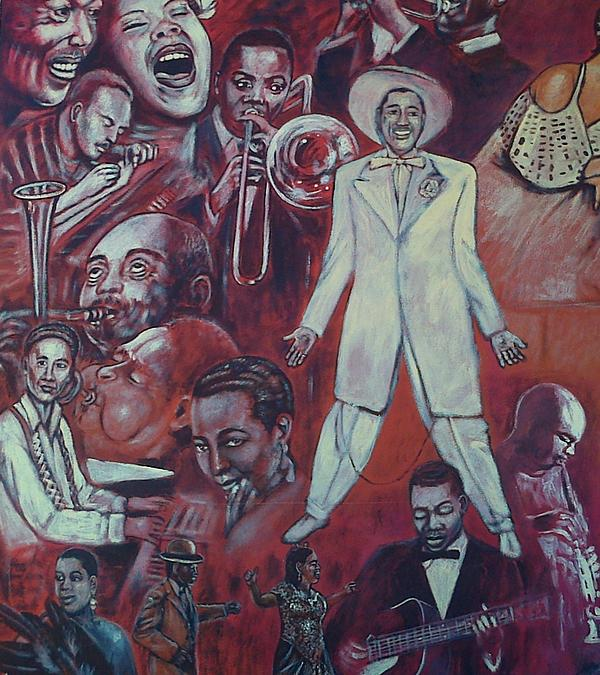 American mural painting images for African american mural