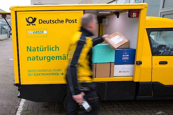 Deutsche Post Ag Unveils Electric Streetscooter Photograph by Bloomberg