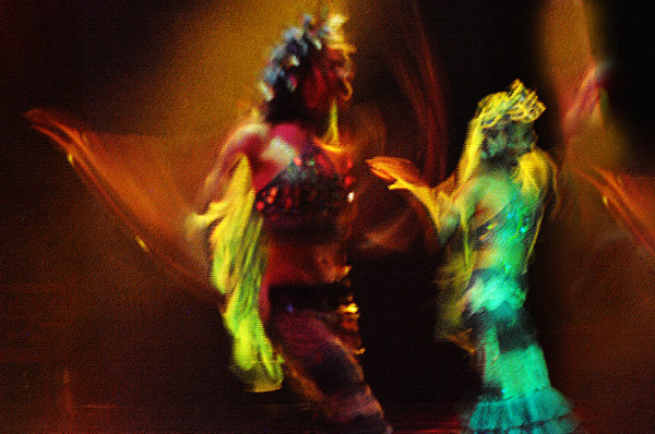 Dance Photograph - Diabolic. Passionate Dance Of The Night Angels by Jenny Rainbow