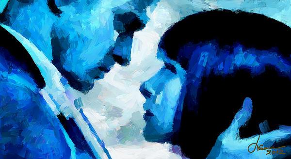 Love Digital Art - Digital Love Tnm by Vincent DiNovici