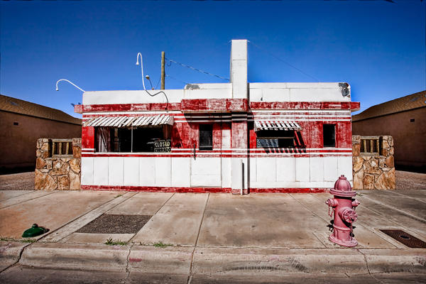 Arizona Photograph - Diner by Peter Tellone