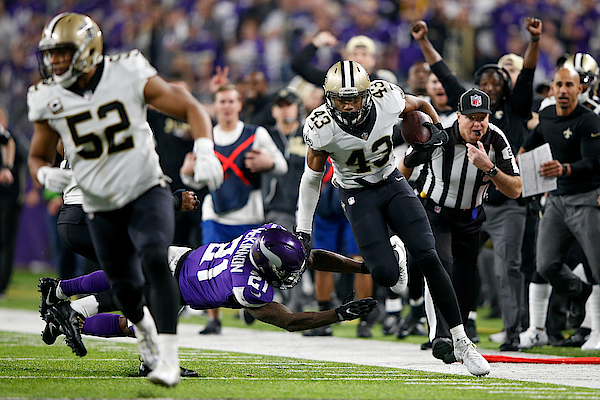 Divisional Round - New Orleans Saints V Minnesota Vikings Photograph by Jamie Squire