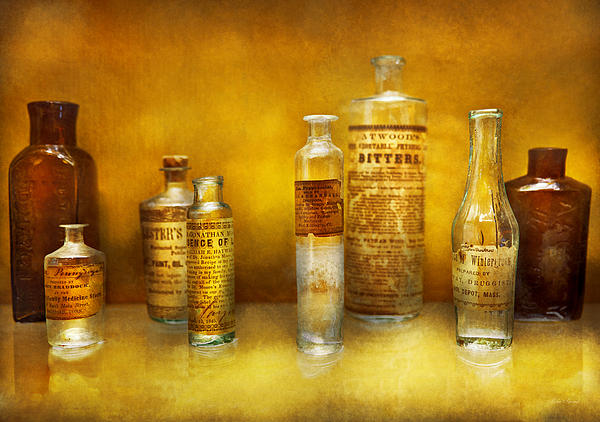 Doctor Photograph - Doctor - Oil Essences by Mike Savad
