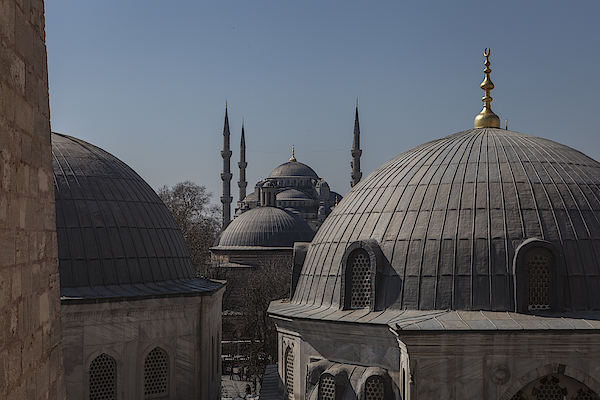 Domes And Minarets Photograph by Adriano Ficarelli
