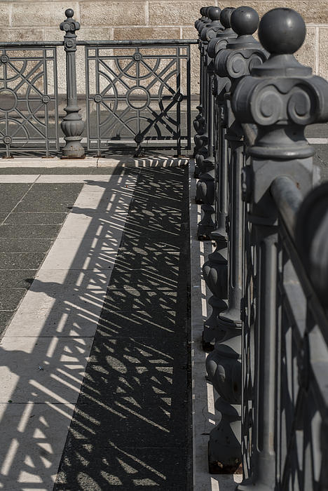 Pictures Of Budapest Hungary Photograph - Double Barrier by Sabina Cosic
