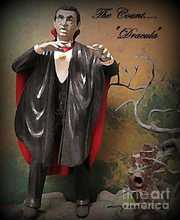 Nightmares Painting - Dracula Model Kit by John Malone