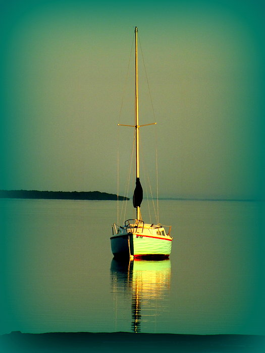 Boats Photograph - Dream Bay by Karen Wiles