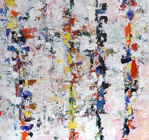 Abstract Painting - Dream Walking by Michael Crohn