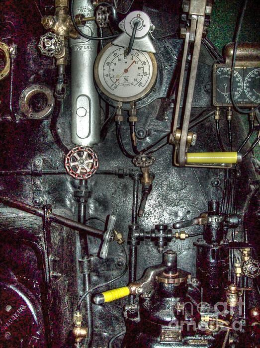 Michigan Photograph - Driving Steam by MJ Olsen