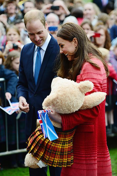 Duke And Duchess Of Cambridge Visit Scotland Photograph by Jeff J Mitchell