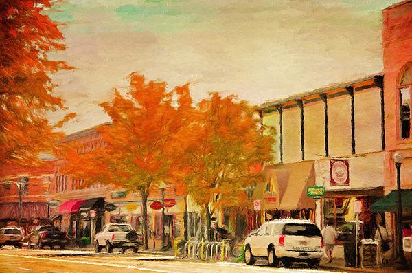 Durango Painting - Durango Autumn by Jeff Kolker