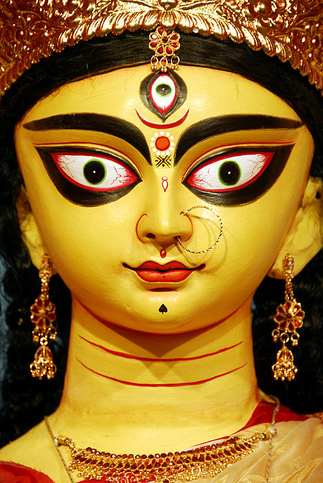 India Photograph - Durga Puja Festival by Bhupendra Singh