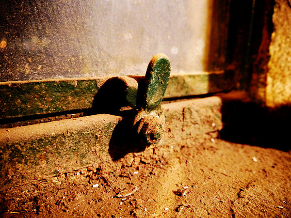 Window Photograph - Dusty Window by Richard Reeve