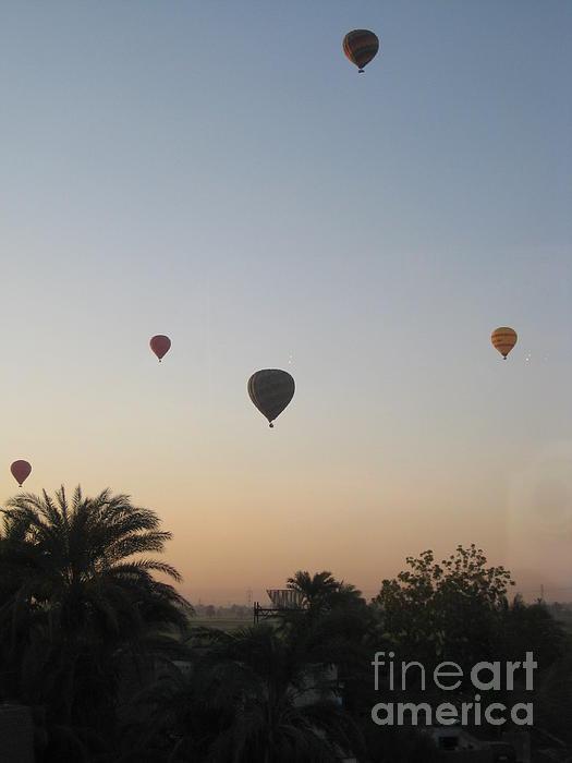 Hot Air Balloons Photograph - Early Morning Rising by John Malone