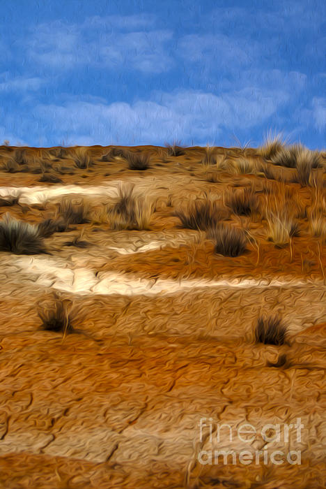 Dry Sand Digital Art - Earth by Nur Roy