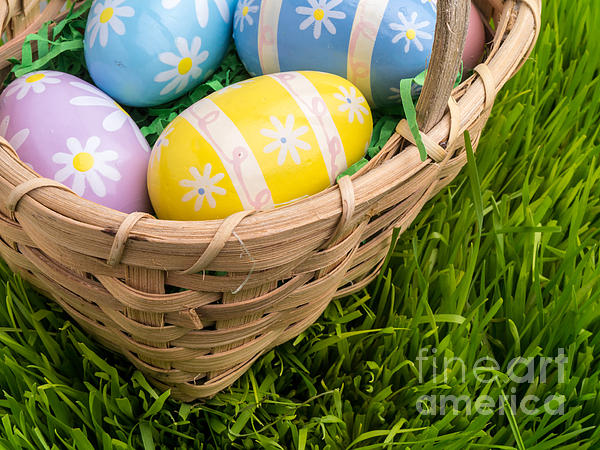 Easter Photograph - Easter Basket by Edward Fielding