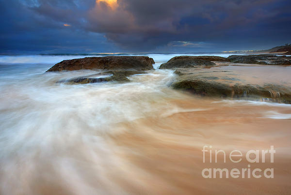 Tides Photograph - Ebb Tide Sunrise by Mike  Dawson