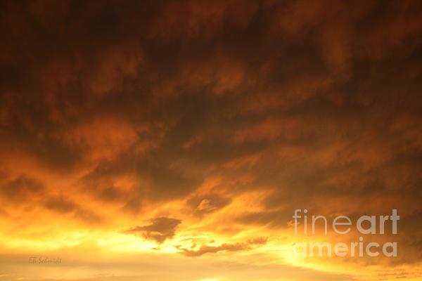 Sunset Photograph - Edge Of The Eye 02 by E B Schmidt