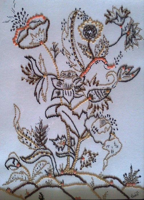 Pulses Painting - Edibles I by Swati Panchal