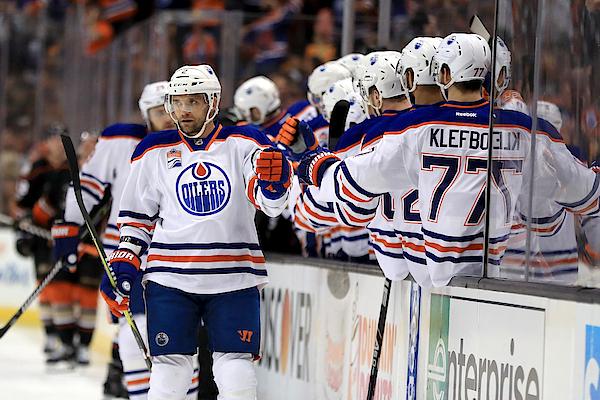 Edmonton Oilers V Anaheim Ducks - Game Two Photograph by Sean M. Haffey