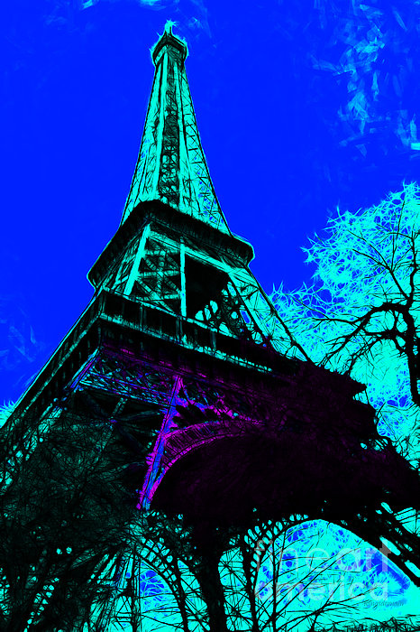 Europe Photograph - Eiffel 20130115v4 by Wingsdomain Art and Photography