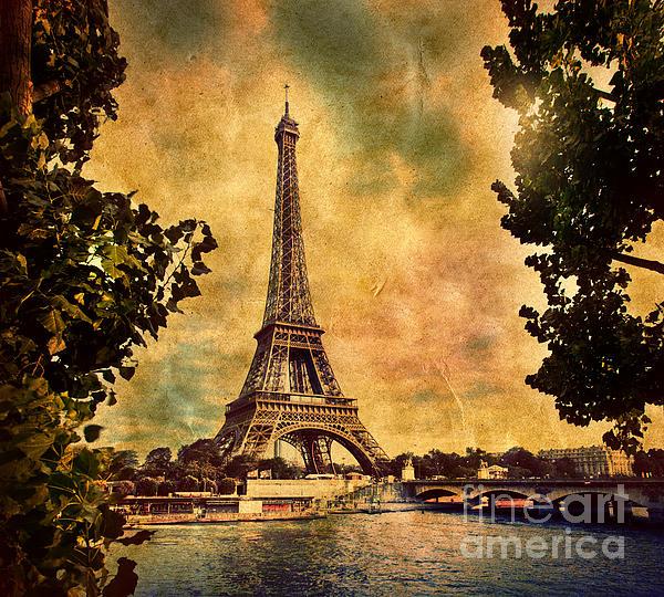 Eiffel Photograph - Eiffel Tower In Paris France by Michal Bednarek