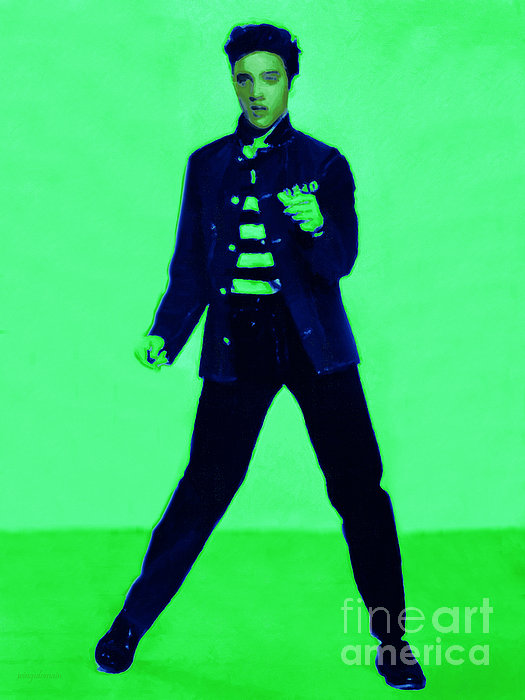 Elvis Presley Photograph - Elvis Is In The House 20130215p91 by Wingsdomain Art and Photography