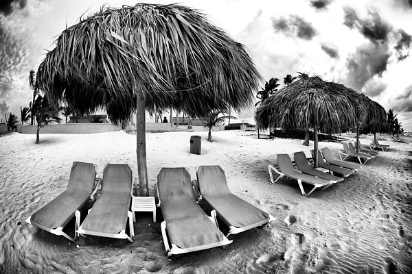 Lounge Chair Photograph - Empty Lounges by John Rizzuto
