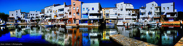 Panoramic View Photograph - Empuriabrava Spain by Isaac Silman