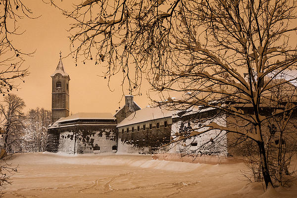 Cityscape Photograph - Enchanted Old Town by Davorin Mance