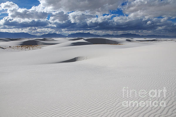 White Sands Photograph - Enchanted Vistas by Vivian Christopher