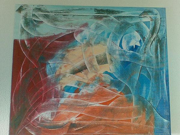 Encruzilhada Painting - Encruzilhada by Mario Cruz