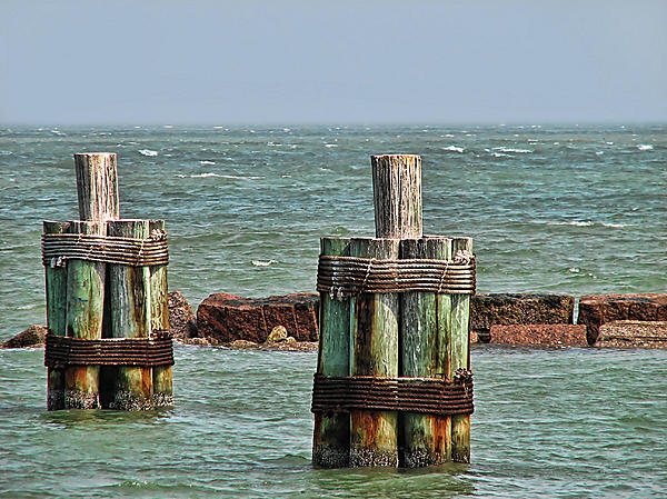 Ocean Photograph - Endlessly Staring Out To Sea by Wendy J St Christopher
