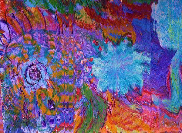 Energy Painting - Energy Burst II by Anne-Elizabeth Whiteway