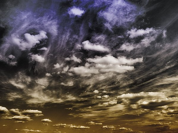 Clouds Photograph - Engage by Tom Druin